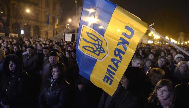 Violentos incidentes en Kiev