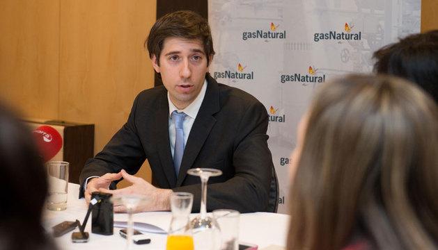 Miquel Andreu, director de Gas Navarra