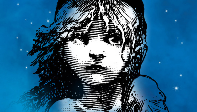 Cartel del musical de 'Los miserables'