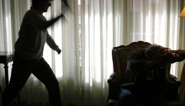 Simulación de una agresión