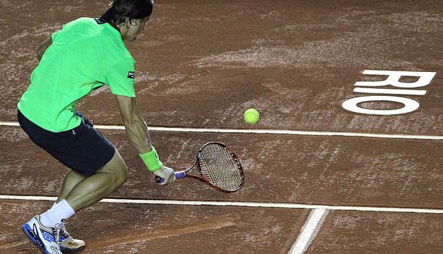 David Ferrer vence el argentino Federico Delbonis