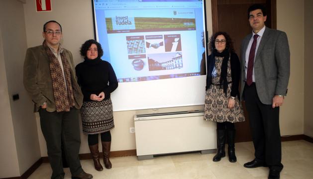 PRESENTACIÓN DE LA WEB 'INVEST IN TUDELA'
