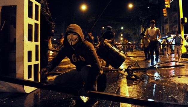 El país suma ya una semana de protestas.