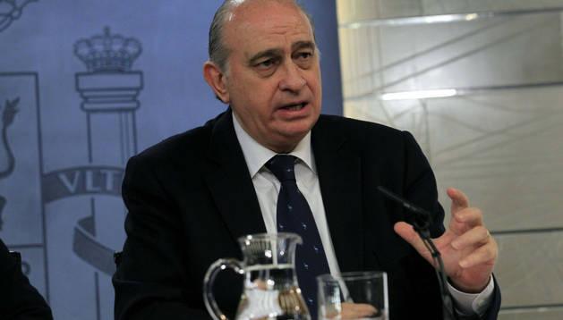 El ministro del Interior, Jorge Fernández Díaz, ha resaltado la
