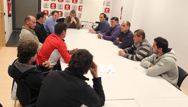 La reunión de las juntas locales de UAGN de varias localidades riberas