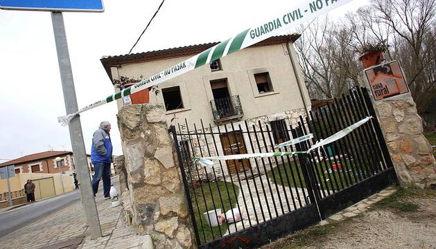Seis muertos en el incendio de una casa rural en Burgos