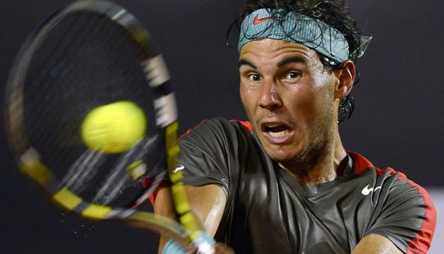 Rafael Nadal derrotó en dos sets, por 6-1 y 6-0, al portugués João Sousa.