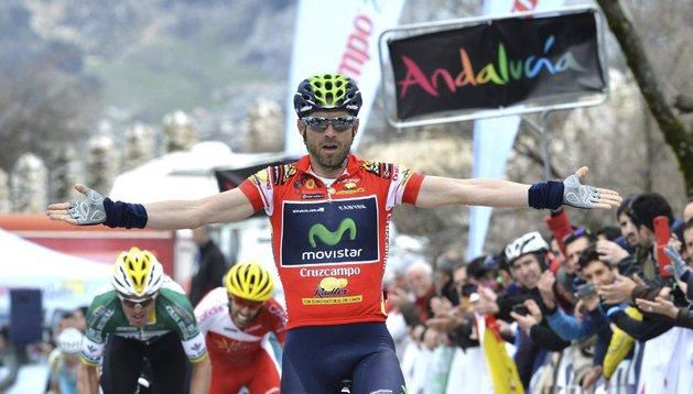 Valverde hace historia y gana la Vuelta a Andalucía por tercera vez