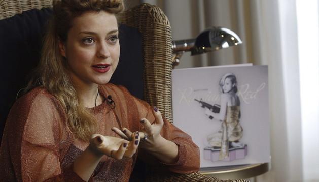 Lourdes Hernández, más conocida por su alias artístico de Russian Red.