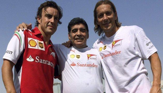 Alonso, Maradona y Míchel Salgado