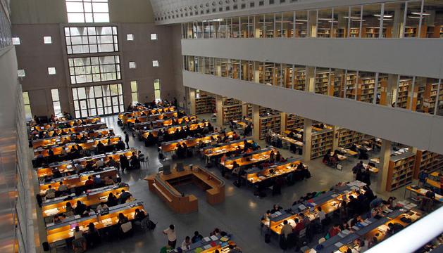 La biblioteca de la UPNA