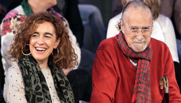 El alcalde de Bilbao Iñaki Azkuna durante un acto político del PNV de Bizkaia el pasado 9 de febrero