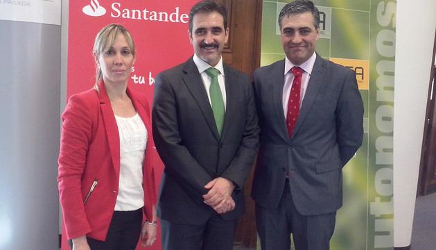 Mireya Sáenz, Juan Carlos Equiza y Alfonso M. Sánchez