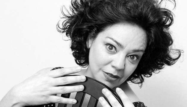 La actriz Gurutze Beitia, en 'Se dice de mí'