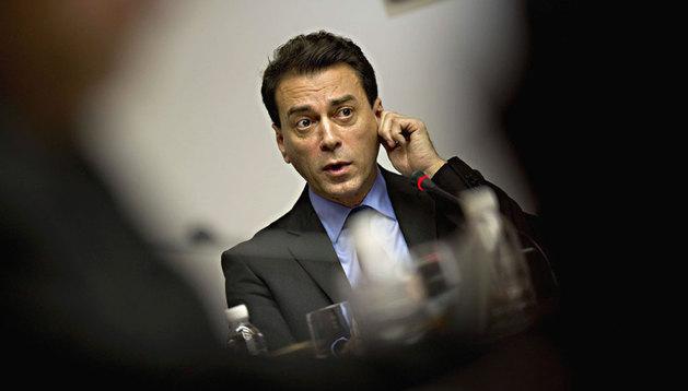 Juan Franco, ante la comisión de investigación