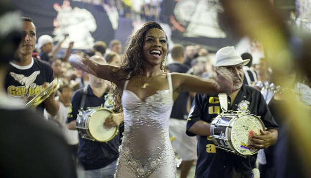 Ensayos del carnaval de Río de Janeiro