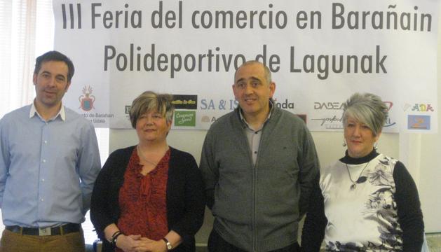 José Carlos Suárez, Mª José Novelle, José Antonio Mendive y Mª Isabel Laplaza