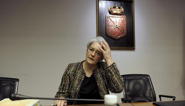 Goicoechea, en la comisión de investigación.