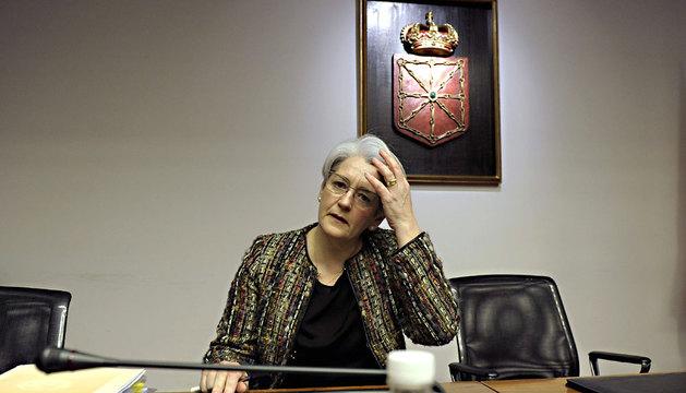 Goicoechea, en su comparecencia este martes en la comisión de investigación