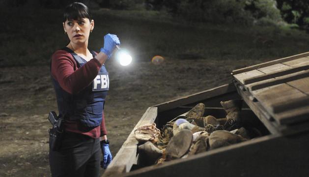 Una escena de 'Mentes criminales' en la que aparece la exagente Emily Prentiss