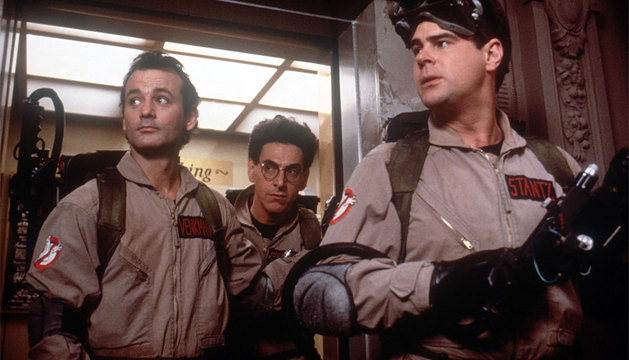 Murray, Ramis y Aykroyd.