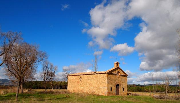 Ermita de la Virgen del Camino de Sangüesa, cerca de Gabarderal