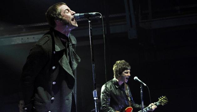 Un concierto del grupo Oasis. ARCHIVO