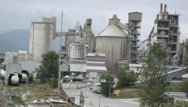 La planta de Portland en Olazagutía