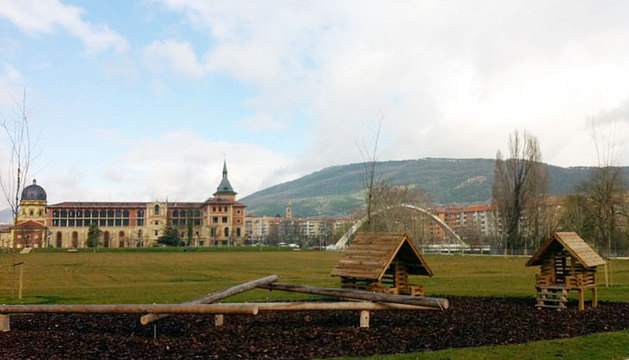Imagen del nuevo parque de Trinitarios.