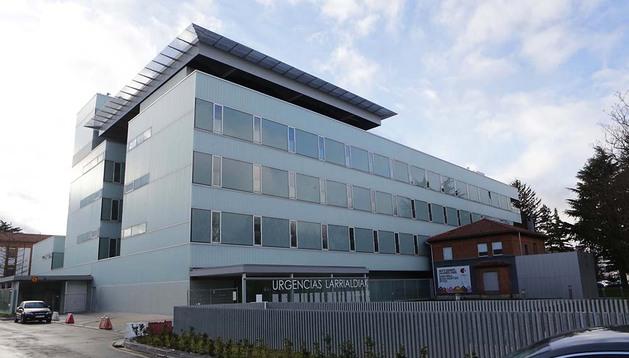 Nuevo edificio de urgencias ubicado en el recinto del Complejo Hospitalario de Navarra