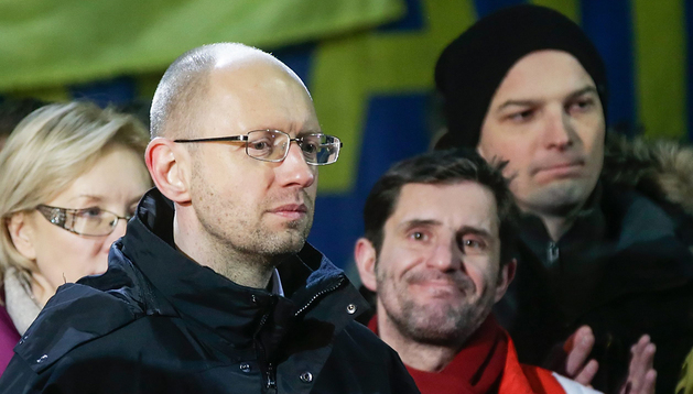 Arseni Yatseniuk, nuevo líder ucraniano