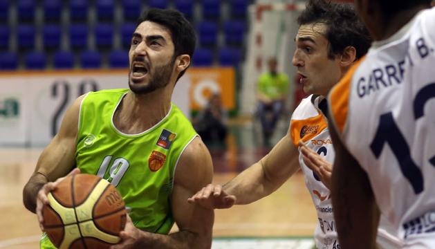 El escolta Quique Suárez, en un partido anterior