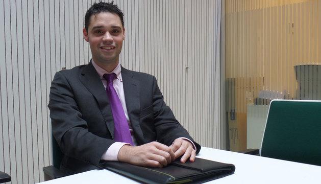 Daniel Montoya, de Caja Rural de Navarra
