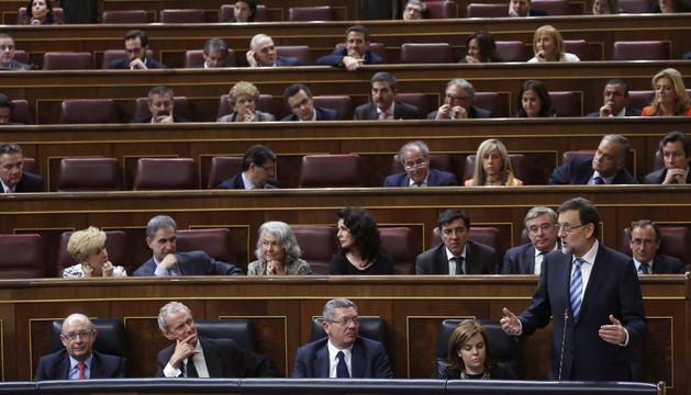 Mariano Rajoy interviene en el debate sobre el estado de la nación