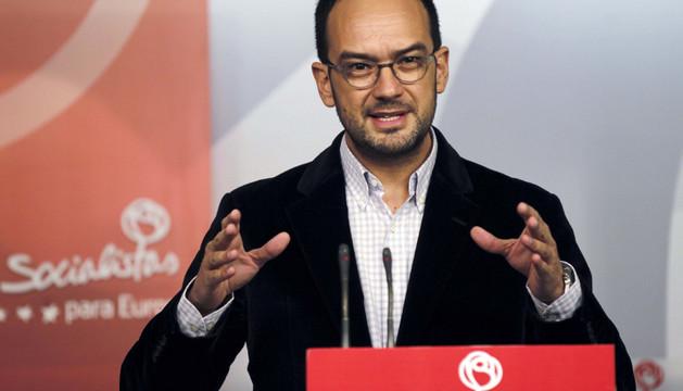 El secretario de Relaciones Institucionales y Política Autonómica del PSOE, Antonio Hernando