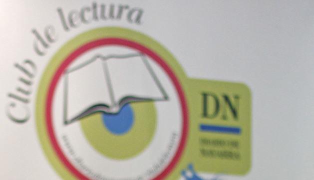 Julio Armas en el Club de Lectura de Diario de Navarra