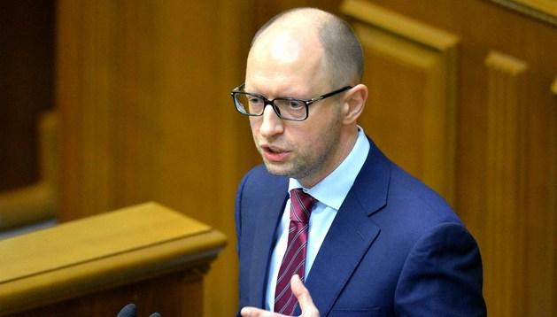 El nuevo primer ministro ucraniano, Arseni Yatseniuk