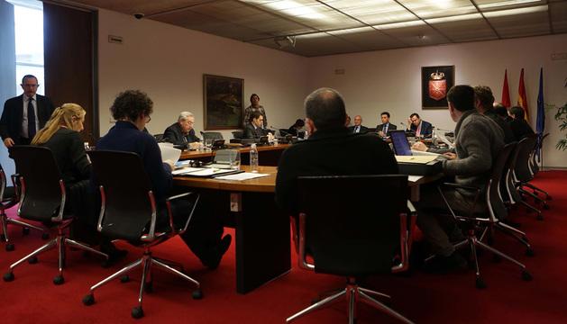 Sesión de la Comisión de Investigación celebrada el pasado lunes.