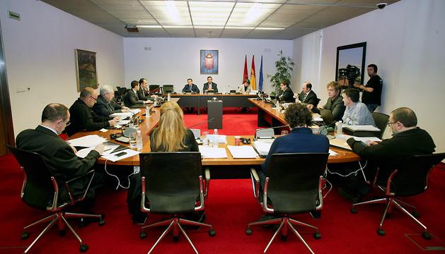 La comisión de investigación sobre la situación de la Hacienda Foral