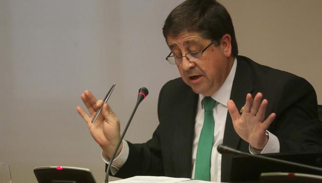 El parlamentario socialista Pedro Rascón