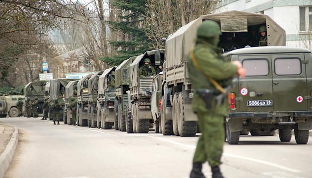 Escalada de tensión entre Ucrania y Rusia