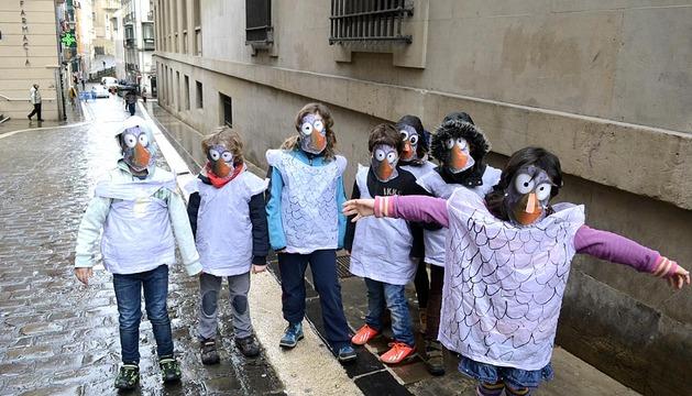 Carnaval en el Casco Antiguo de Pamplona