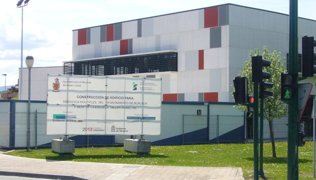 El centro se levantará en el edificio municipal en la calle Merindad de Sangüesa