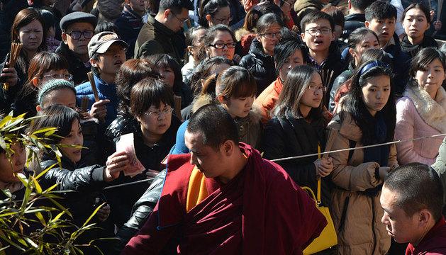 Celebración del Losar en el Templo de los Lamas en Pekín