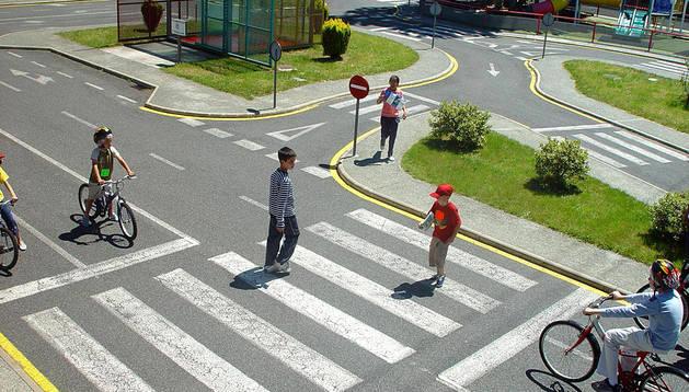 El Ayuntamiento prevé una subvención de 18.300 euros para impartir clases de seguridad vial a escolares en el Parque Polo.