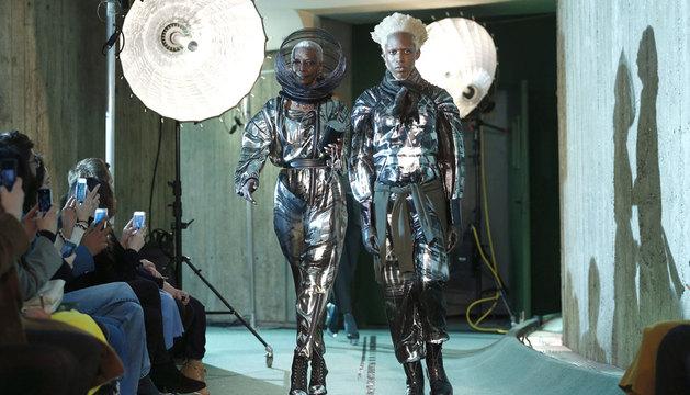 Desfile de Jean Paul Gaultier en la Semana de la Moda de París