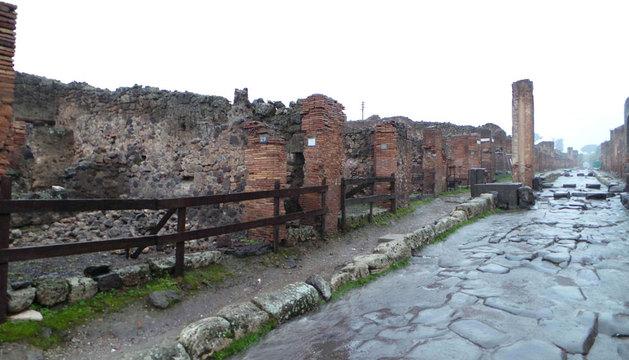 La ciudad de Pompeya