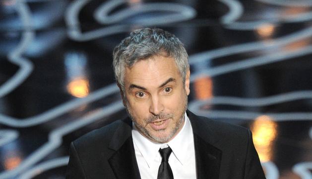 Cuarón pronuncia su discurso de agradecimiento por el Oscar a mejor director