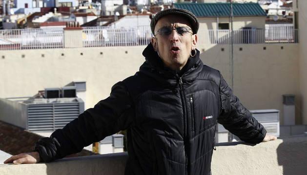 Fito Cabrales, líder de Fito & Fitipaldis, en Madrid