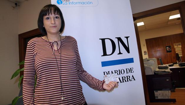 Ana Belén López Ezquerro, con sus entradas